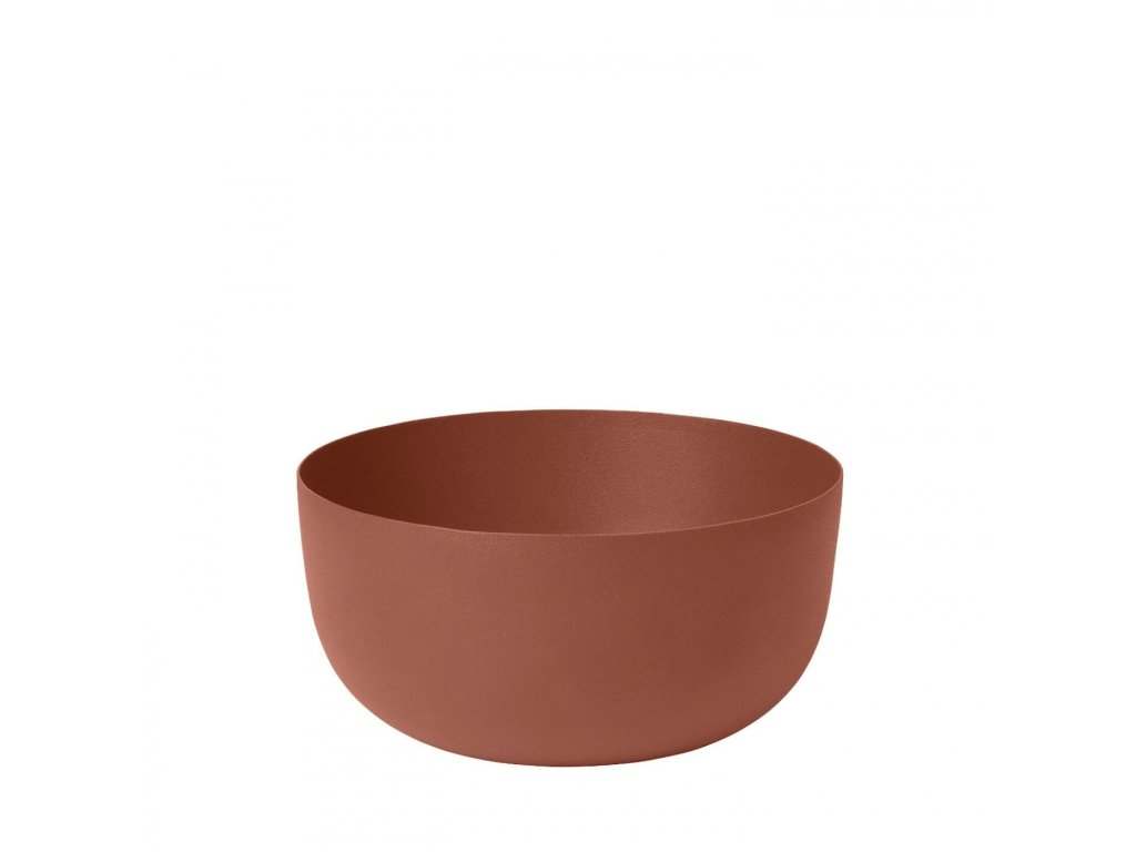 3068 1 reo velka miska 15 cm cihlove cervena