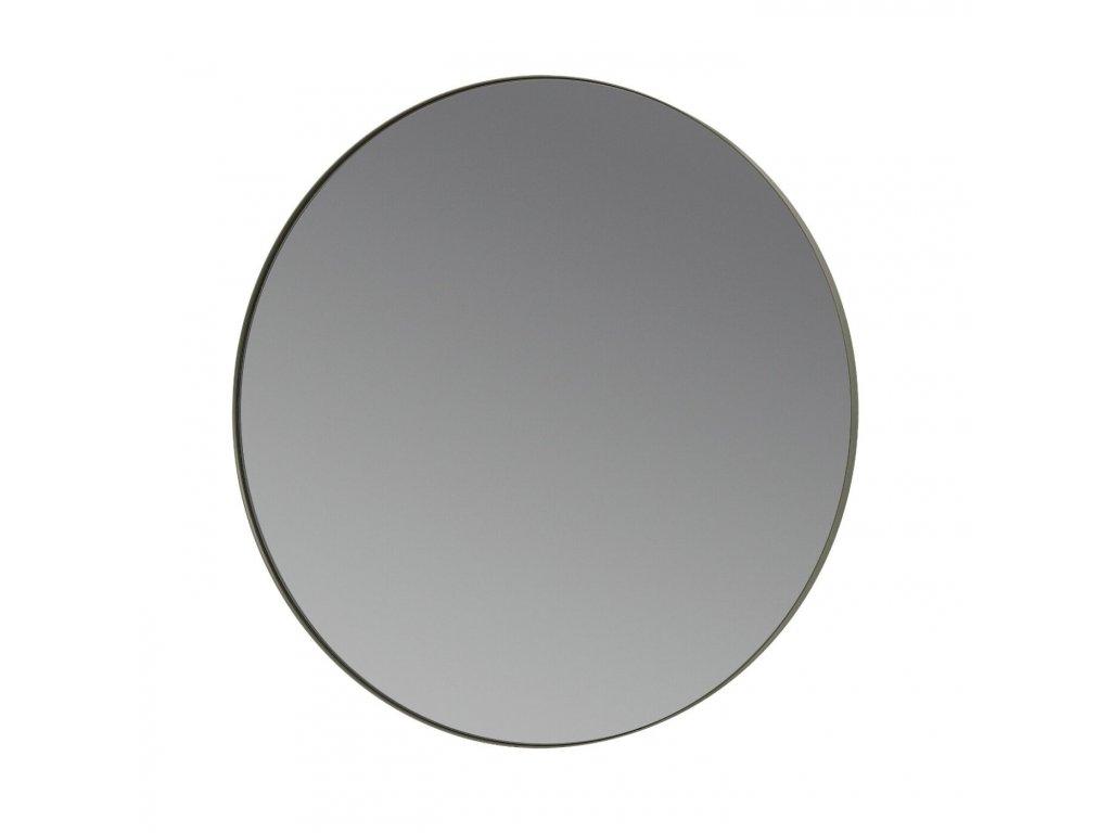 3122 1 rim nastenne zrcadlo 50 cm ocelove seda