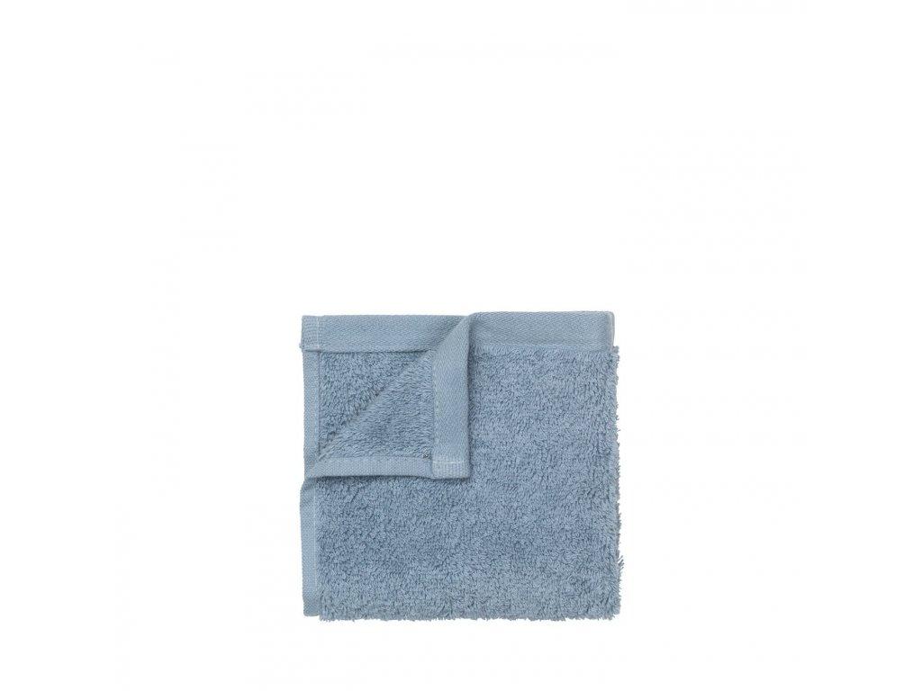 3185 1 riva sada 2 malych rucniku na ruce30 x 50 cm pastelove modra