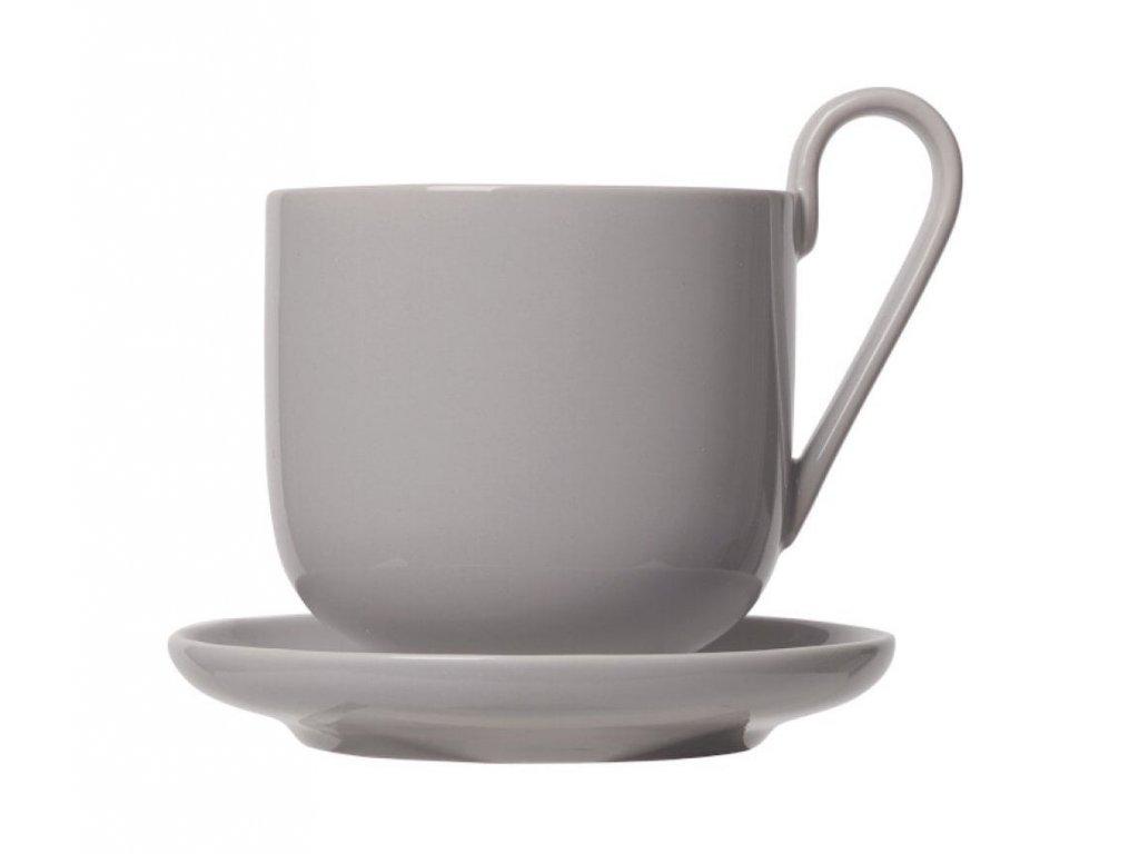 3374 1 ro sada 2 kavovych salku s podsalky 290 ml hrejive seda