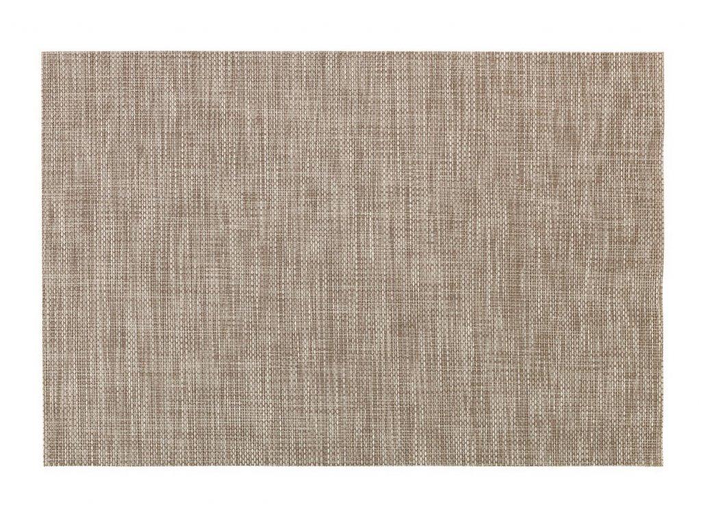 3524 1 sito prostirka 46 x 35 cm kremova hneda
