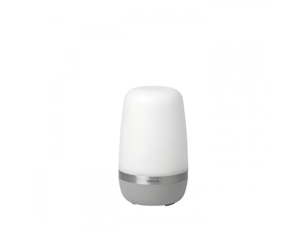 3674 1 spirit led venkovni lampa mala platinove seda