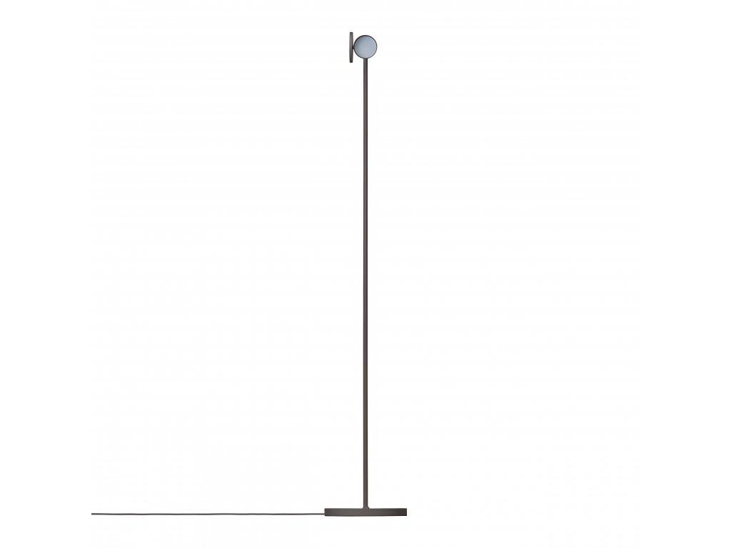 3698 3 stage stojaci lampa hrejive seda