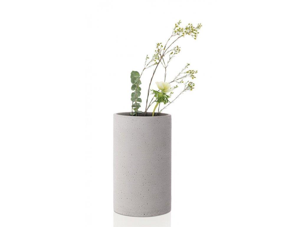 371 1 coluna svetle seda vaza 20 cm