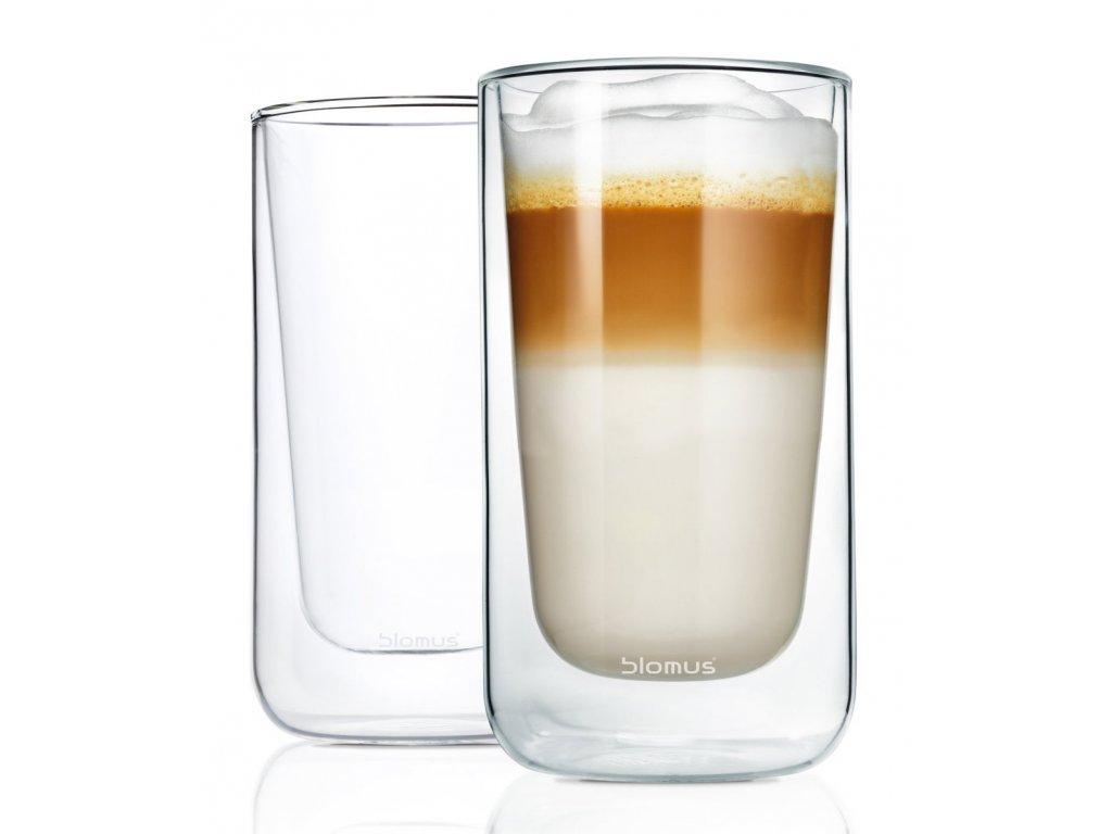 392 3 nero termo sklenice na latte macchiato 2 ks