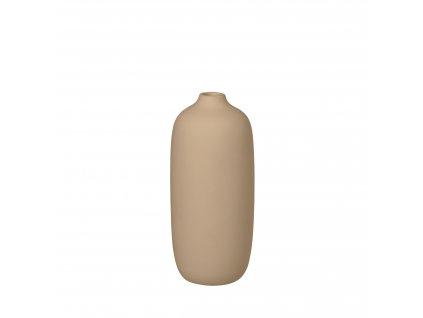 1682 1 ceola bezova vaza 18 cm