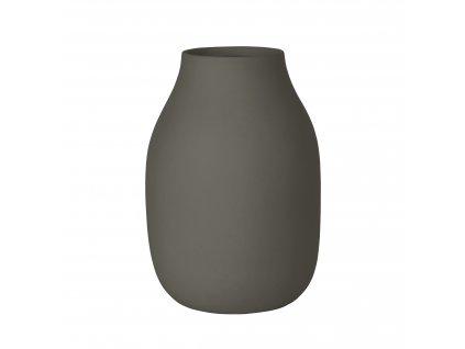 1742 1 colora vaza ocelove seda 15 cm