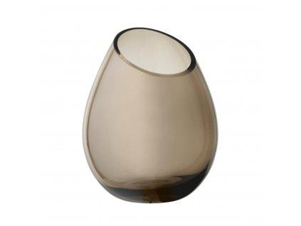 1874 2 drop vaza h 24 cm 19 cm coffee