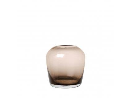 2351 1 leta hneda vaza 11 cm