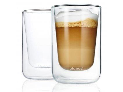341 4 nero termo sklenice na cappuccino 2 ks