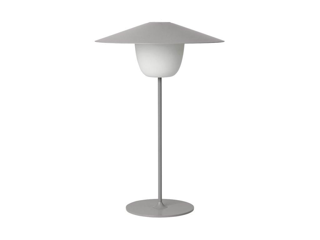 Mobilná LED lampa ANI LAMP stredná sivá
