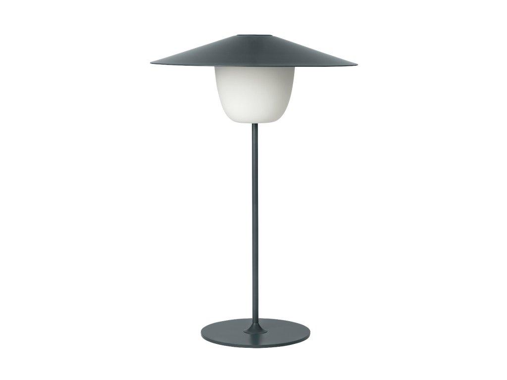 Mobilná LED lampa ANI LAMP stredná čierna