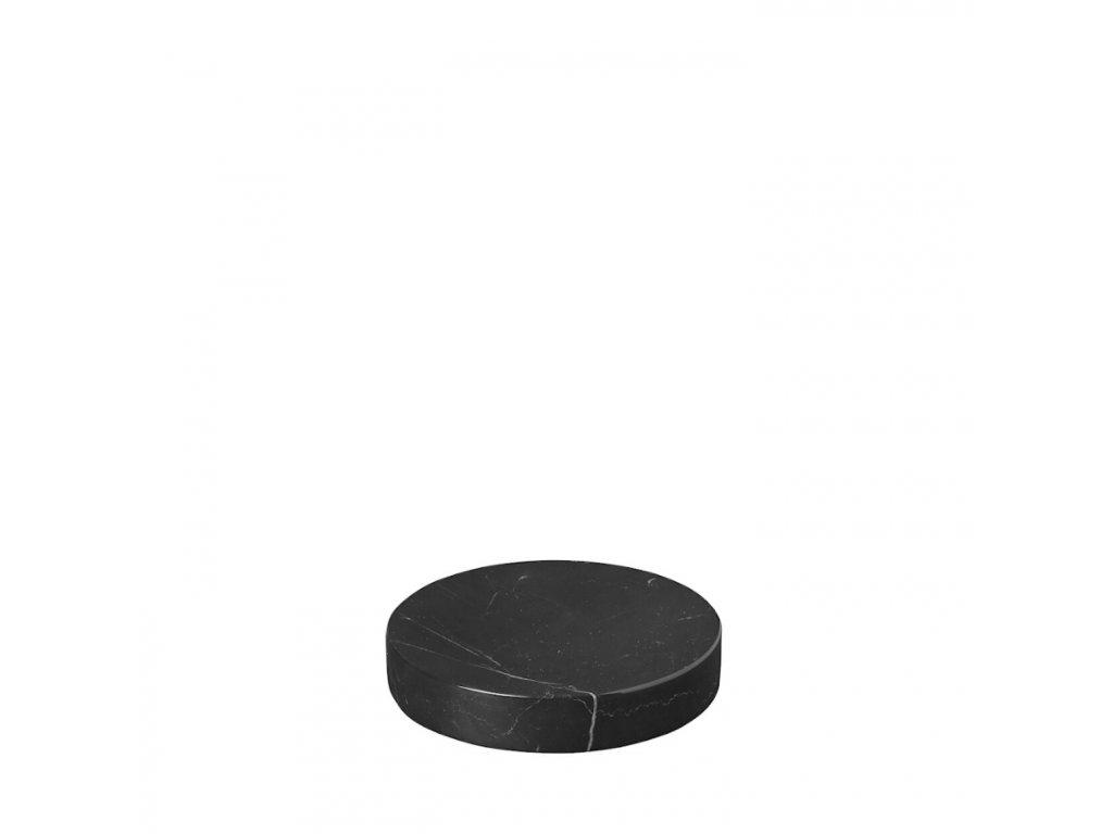 2786 1 pesa mramorova podlozka 11 cm cerna