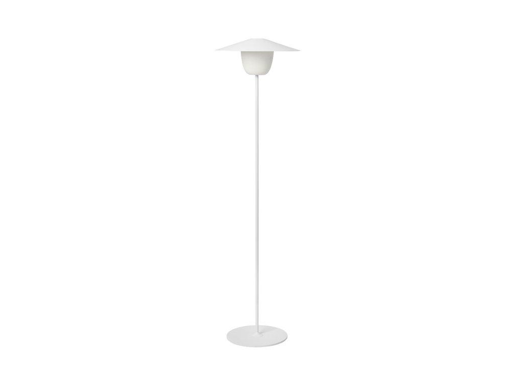 Vysoká mobilná LED lampa ANI LAMP biela