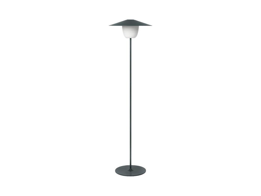Vysoká mobilná LED lampa ANI LAMP čierna
