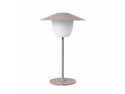 Mobilná LED lampa ANI LAMP nízka staroružová