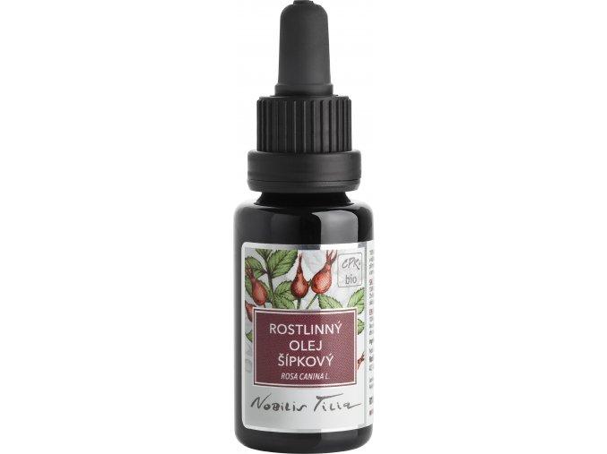 R1054C Šípkový olej bio 20 ml fialové sklo