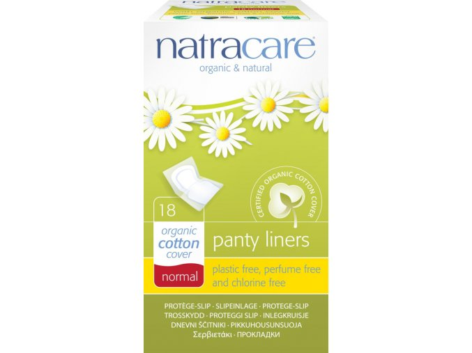 natracare pantyliners intimky normal18ks