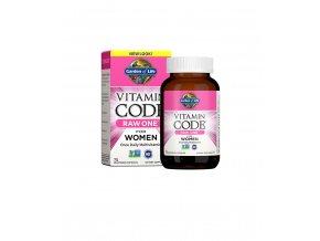 garden of life raw vitamin code one for women komplexni multivitamin pro zeny