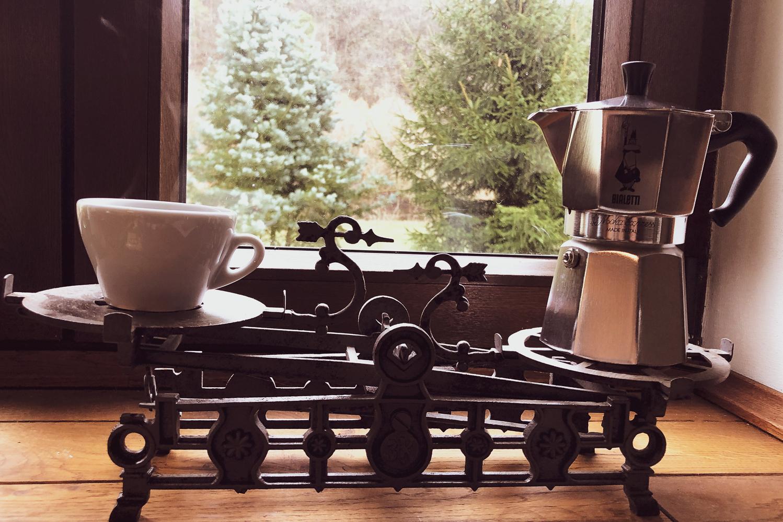 Výborná káva z moka konvičky