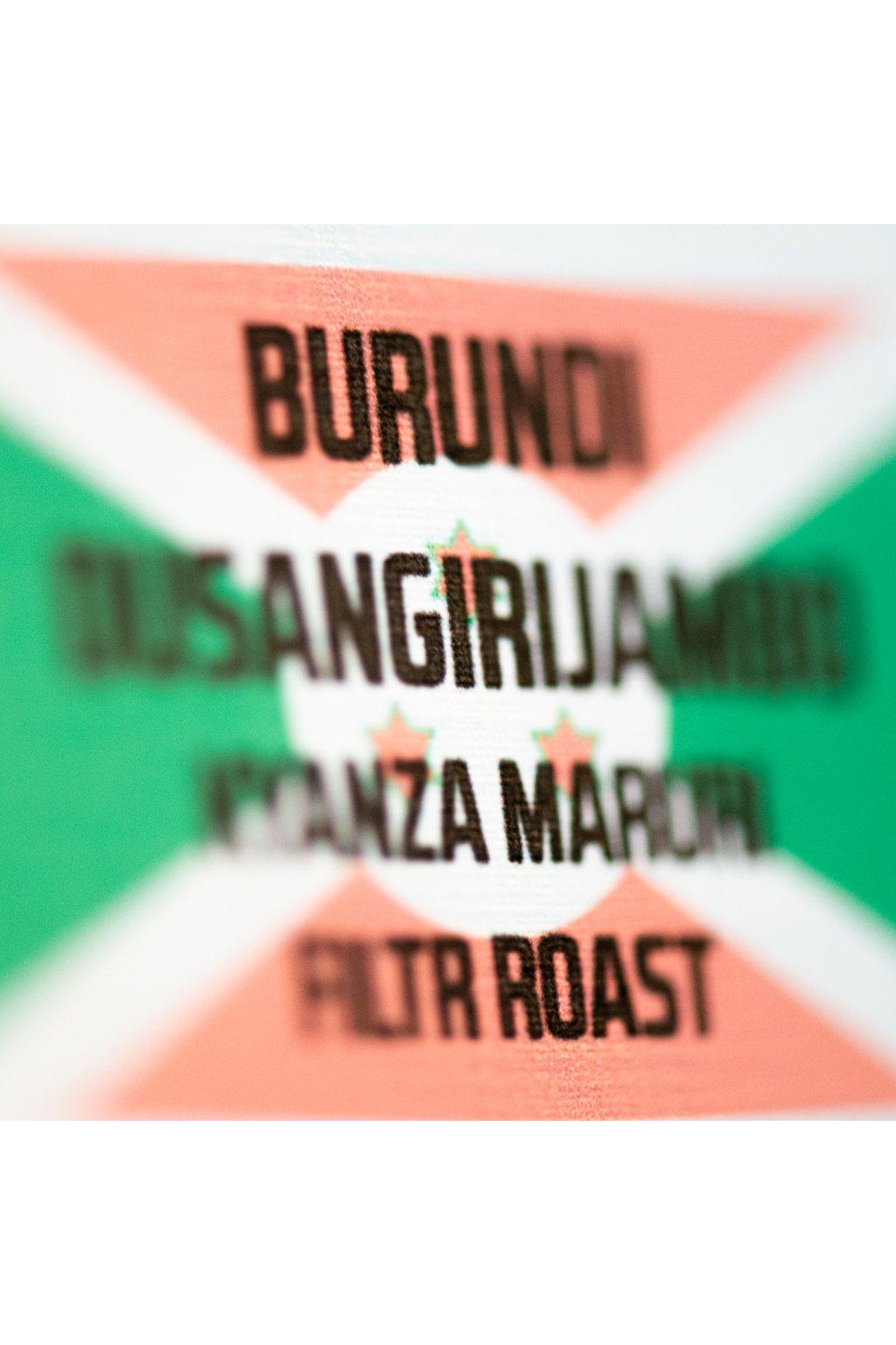 Burundi Dusangirijambo Kyanza Maruri Filtr Roast