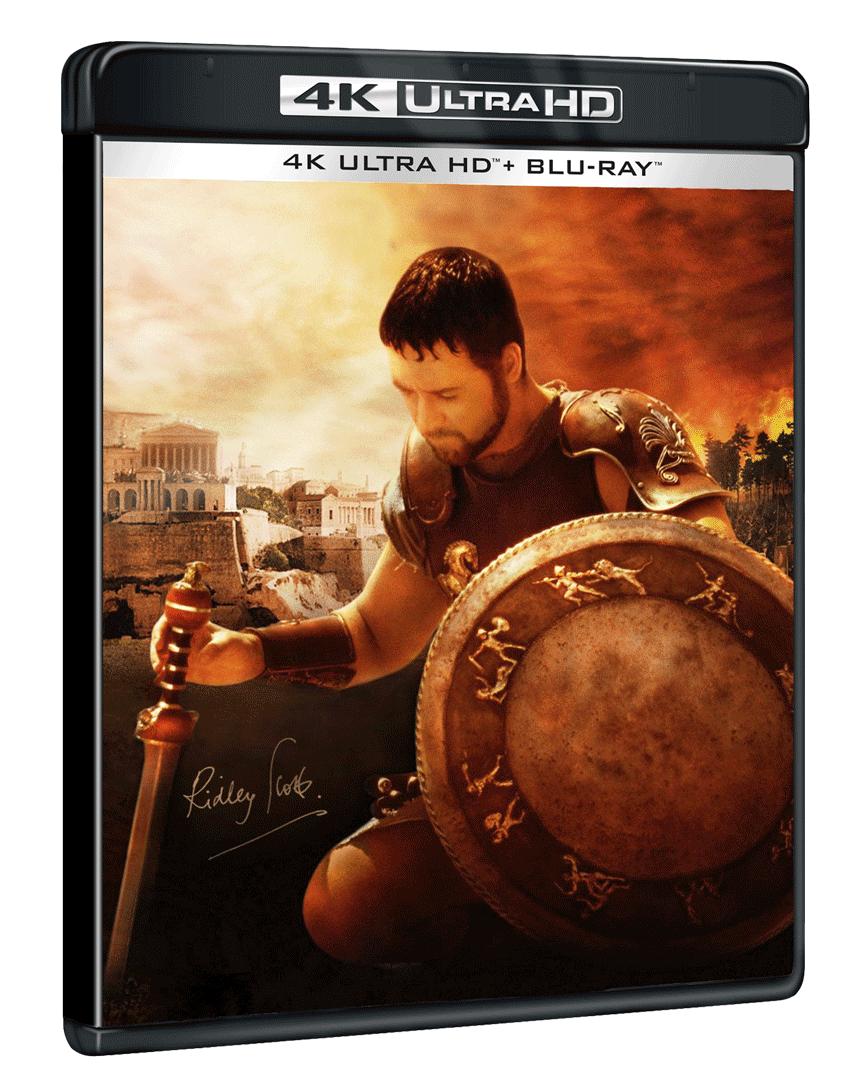 Gladiátor, Jurský park a další pecky v Ultra HD