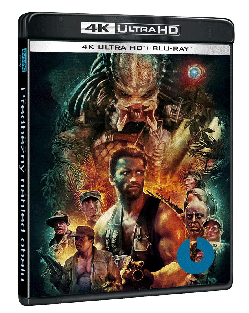 Predátor míří na Ultra HD Blu-ray i s českým dabingem