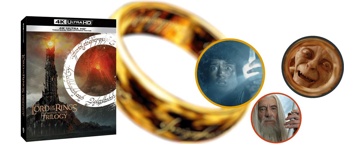 Pán prstenů a Hobit ve 4k