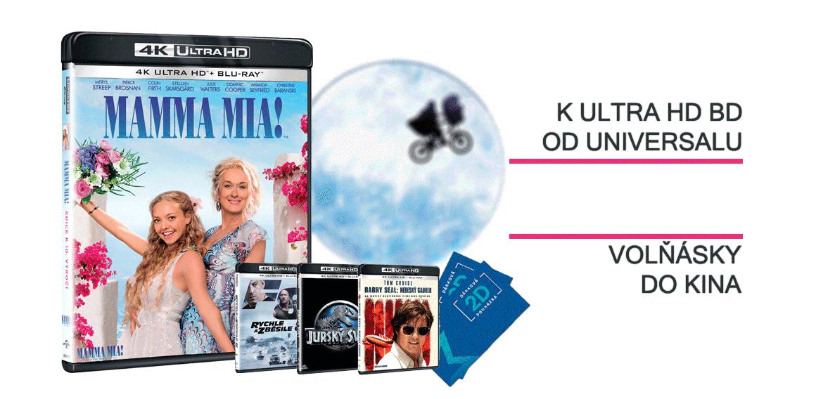 K Ultra HD Blu-ray vstupenky do kina zdarma