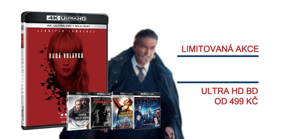 Ultra HD Blu-ray od 499 Kč