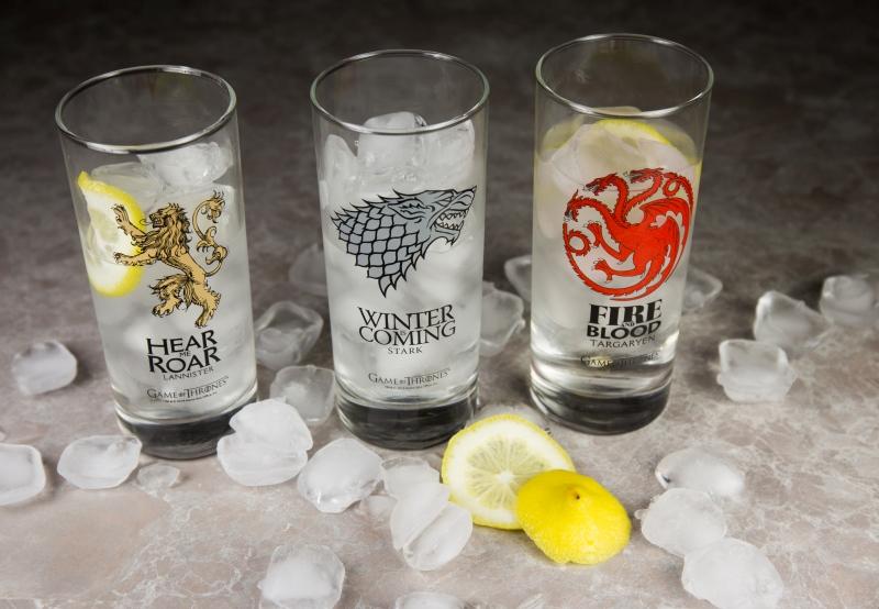 Sklenice Game of Thrones