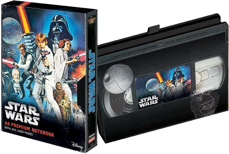 Zápisník Star Wars