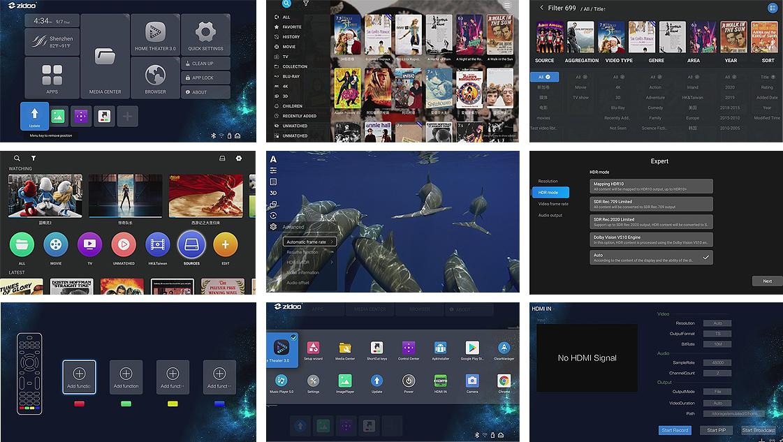 zdioo-z9x-user-interface