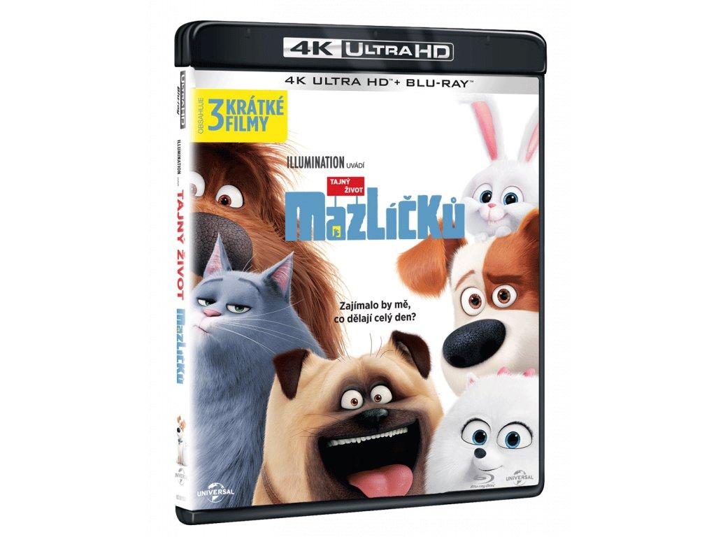 Tajný život mazlíčků (4k Ultra HD Blu-ray)