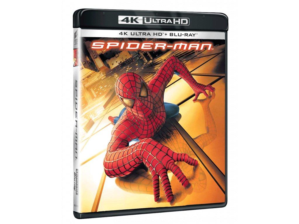 Spider-Man (4k Ultra HD Blu-ray + Blu-ray)