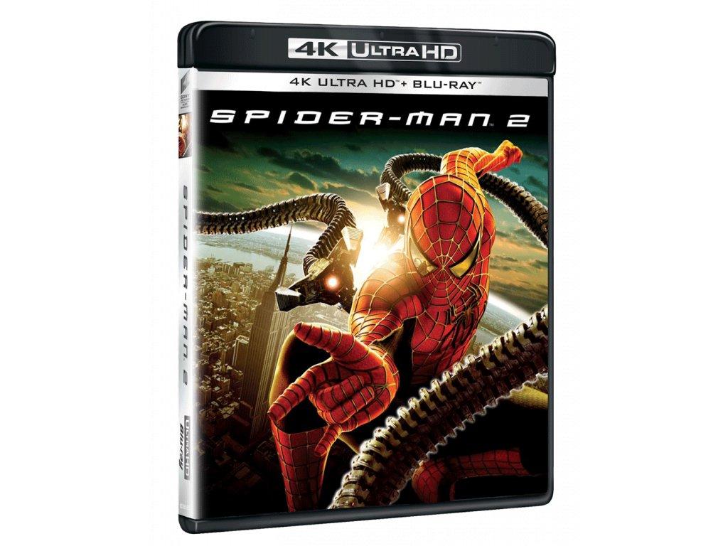 Spider-Man 2 (4k Ultra HD Blu-ray + Blu-ray)