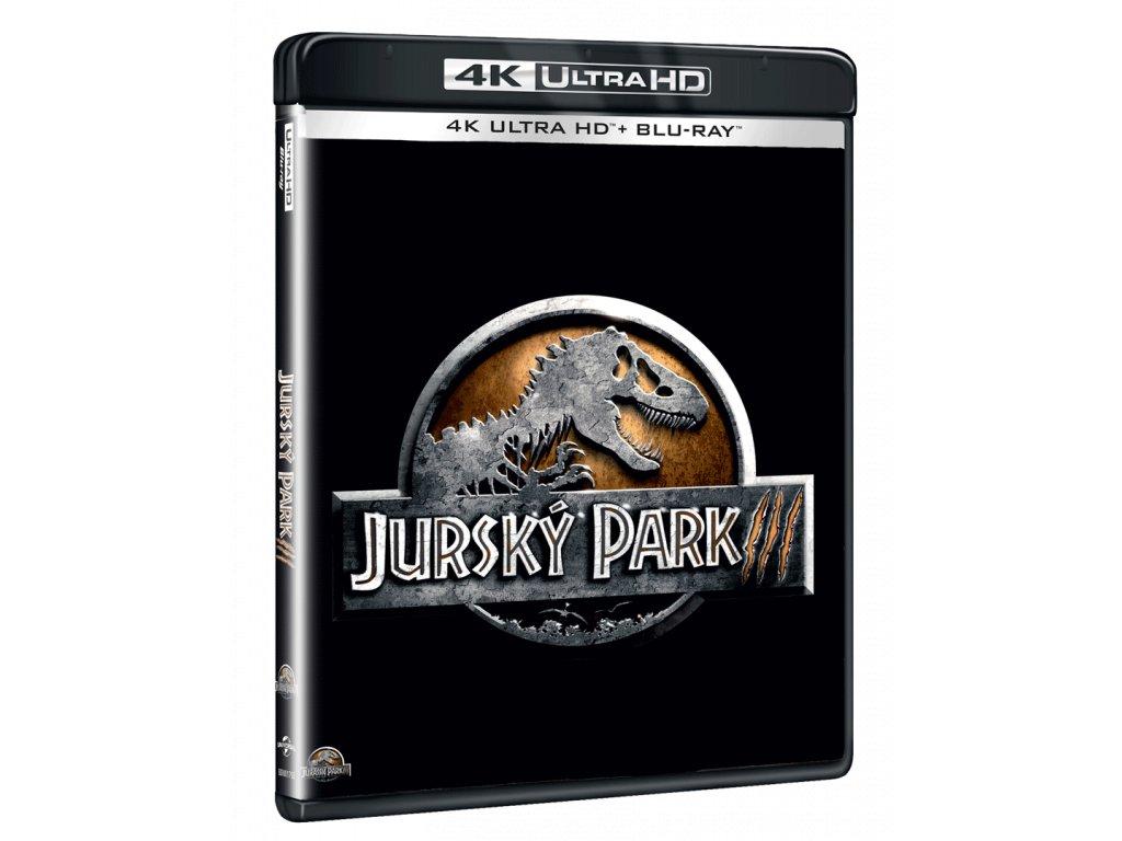 Jurský park 3 (4k Ultra HD Blu-ray + Blu-ray)