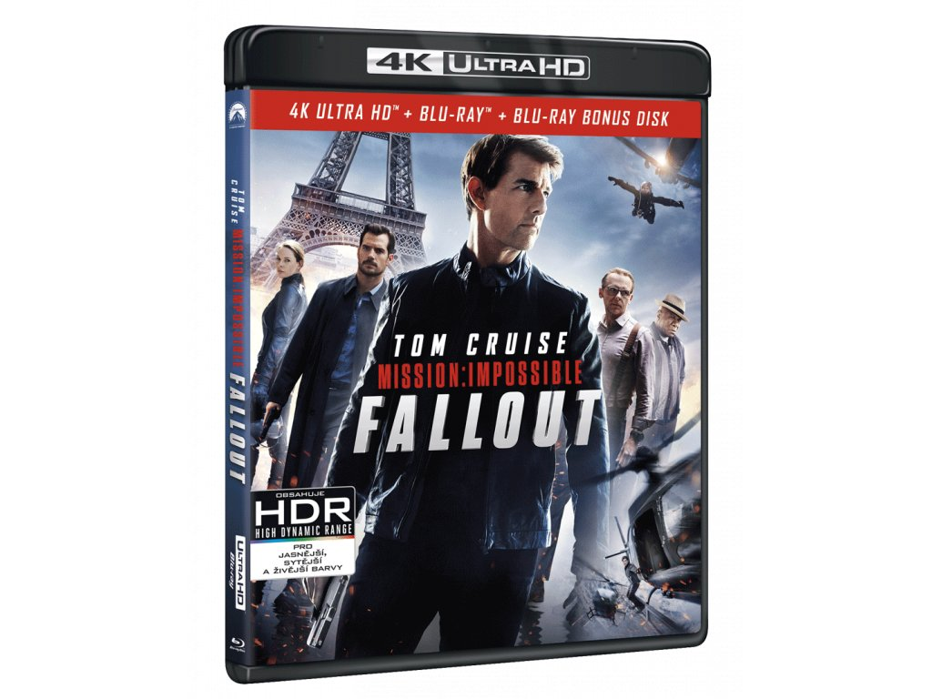 Mission: Impossible - Fallout (4k Ultra HD Blu-ray + Blu-ray, Steelbook)