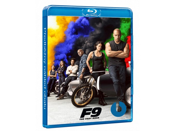 Rychle a zběsile 9 (F9, Blu-ray 3D + Blu-ray 2D)