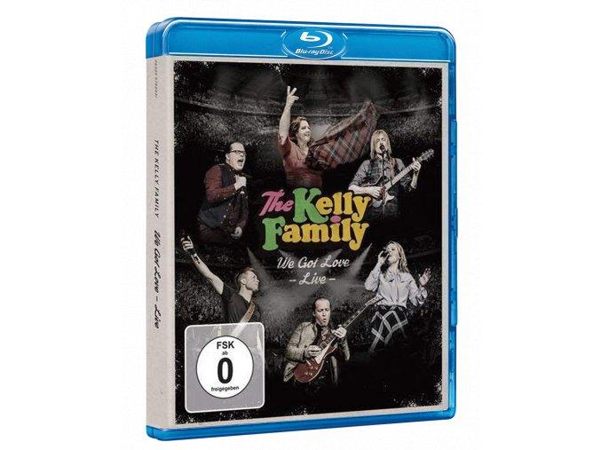 The Kelly Family: We Got Love (Live From Westfalenhalle, Dortmund, Blu-ray)