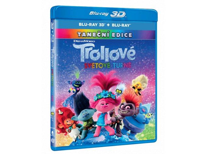 Trollové: Světové turné (Blu-ray 3D + Blu-ray 2D)