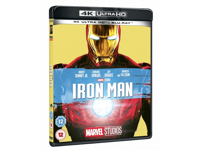 Iron Man (4k Ultra HD Blu-ray + Blu-ray, Bez CZ)