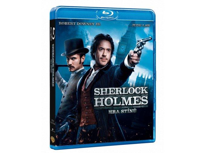 Sherlock Holmes: Hra stínů (Blu-ray)
