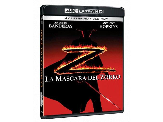 Zorro: Tajemná tvář (4k Ultra HD Blu-ray + Blu-ray, CZ pouze na UHD)
