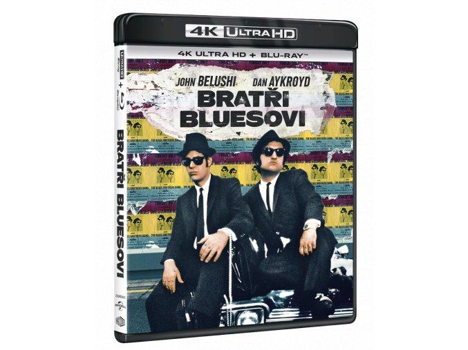 Bratři Bluesovi (4k Ultra HD Blu-ray + Blu-ray)