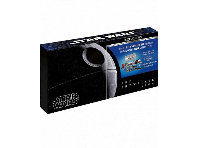 Star Wars: Skywalker Saga (9x 4k Ultra HD Blu-ray, 9x Blu-ray + 9x bonusový Blu-ray, BEZ ČESKÉ PODPORY)