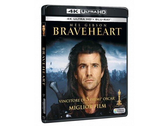 Statečné srdce (4k Ultra HD Blu-ray + 2x Blu-ray, CZ pouze na UHD)