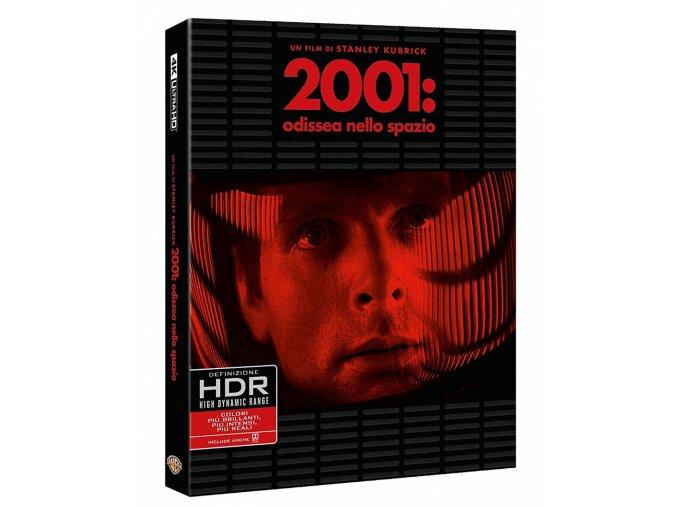 2001: Vesmírná odysea (4k Ultra HD Blu-ray + Blu-ray, CZ titulky pouze na UHD)