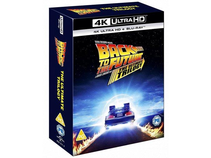 Návrat do budoucnosti 1-3 (3x 4k Ultra HD Blu-ray + 4 Blu-ray)