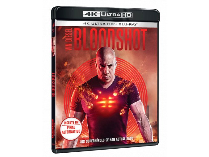Bloodshot (4k Ultra HD Blu-ray + Blu-ray, CZ pouze na UHD)